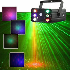 Mini Stage Laser Light R&G Projector LED Strobe Dance Music Club Party DJ Disco
