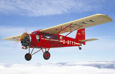 "Model Airplane Plans (RC or FF): Curtiss Robin 1/12 Scale 41"" for .049 (Flyline)"