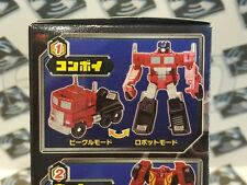 TAKARA TRANSFORMERS EZ COLLECTION G2 BLACK OPTIMUS PRIME LEGENDS CLASS
