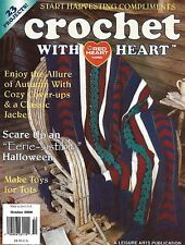 ~ ~ ~ CROCHET WITH HEART MAGAZINE ~ OCTOBER 2000 ~ EXCELLENT PATTERNS ~ ~ ~
