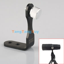L-Shape Universal Metal Black Tripod Adapter Fixing Mounting Binoculars Bracket