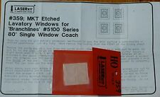 "American Model Builders, Inc HO #359 Lavatory Windows for: Branchline ""Katy"""