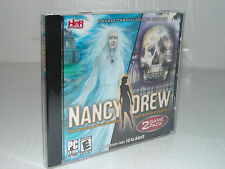 NANCY DREW 2 PACK (PC GAMES)  Haunting of Castle Malloy + Legend Crystal Skull