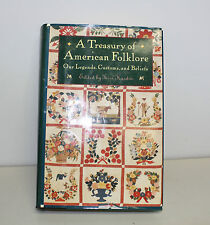 A Treasury of American Folklore- edited by Terri Hardin (1994, Book)