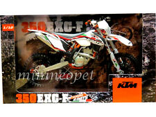 AUTOMAXX 600068 KTM 350 EXC-F SARDINIA 6 DAYS DIRT BIKE 1/12 WHITE