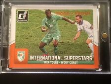 YAYA TOURE # 68/299 Ivory Coast PRESS PROOF Donruss Panini Soccer ..
