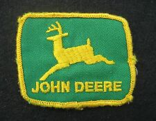 """JOHN DEERE EMBROIDERED SEW ON ONLY PATCH FARM GREEN BACK UNIFORM 3"""" x 2 1/2"""""""