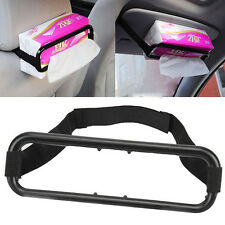 Car Sun Visor Tissue Box Holder Paper Napkin Seat Back Bracket Auto Accessories