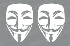We Are Anonymous Vinyl Decal Sticker  OCCUPY Wall Street