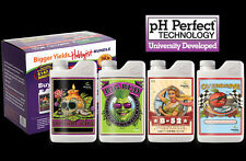 ADVANCED NUTRIENTS HOBBYIST 30ml- BIG BUD, OVERDRIVE, B-52 & VOODOO - 4 x 30ml