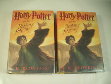2 Lot Harry Potter and the Deathly Hallows JK Rowling 2007 First Edition 58-2D