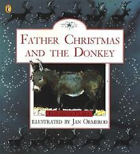 Father Christmas and the Donkey (Picture Puffins)-ExLibrary