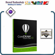 GENUINE CorelDraw Graphics Suite X8 - (PC) NEW RELEASE APRIL 15th 2016