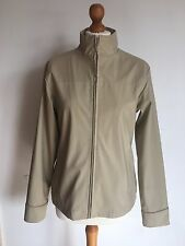 Women's Beige PVC/PU/Polyester Jacket Size 12 Cheap Spring Summer