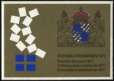 Sweden 1971 Stamps Official Year Pack