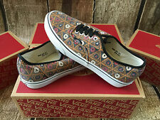 VANS AUTHENTIC VAN DOREN GRID TRIBE MENS SIZE 9 NEW SKATE SHOES