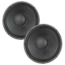 "Pair Eminence Delta-12LFC 12"" Sub Woofer 4 ohm 93.1dB 2.5""VC Replacement Speaker"