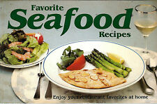 1983 Favorite Seafood Recipes Cookbook Fish Shellfish Main Dishes Soups Salads