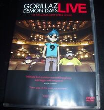 Gorillaz Demon Days Live At The Manchester Opera House (All Region) DVD Like New