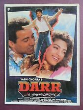 Press Book Indian Movie promotional Song book Pictorial Darr (1993) Originl