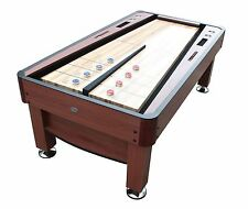 """THE REBOUND"" 7 foot SHUFFLEBOARD TABLE in CHERRY by BERNER BILLIARDS ~ ALL NEW"