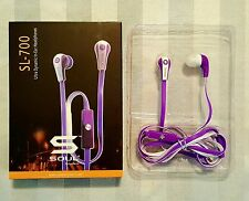 Soul SL700 By Ludacris In Ear Earbuds, For iPod, iPhone, Samsung Ext