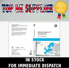 VW SKODA SEAT V14 RNS510 RNS810 2017 Navigation Map DVD Disc UK West Europe