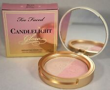 Too Faced Candlelight Glow Highlighting Powder Duo 10g Rosy - New In Box