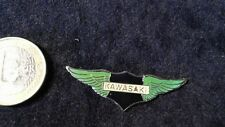 Kawasaki Logo Pin Wings Badge