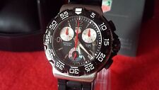 Watch Mens Chrono TAG Heuer F1 Formula 1 One CAC1110-0 Black with box
