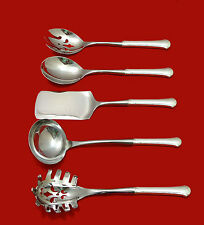 CHIPPENDALE BY TOWLE STERLING SILVER HOSTESS SET 5-PIECE HH WS CUSTOM MADE