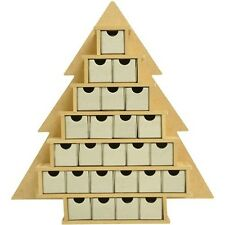 Kaisercraft Beyond The Page Mdf Small Tree With Drawers Advent Calendar - 258010