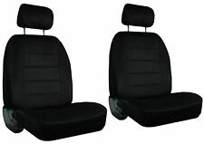 for 2000-2005 MERCURY SABLE 2 Quilted Velour Encore Solid Colors Seat Covers