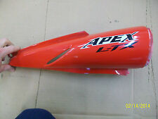 Yamaha 2008 LTX Apex  Exhaust cover Protector left,  RS Vector,Red 8FP-77551-00-
