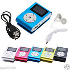 USB Clip MP3 Player Mini LCD Screen Support 2/4/8/16GB Micro SD TF Card Reader