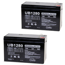 UPG 2 Pack - 12V 8Ah APC Smart-UPS 750VA USB, SUA750 UPS Battery