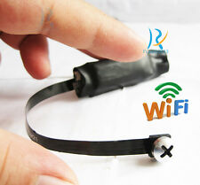 wireless spy IP WIFI mini DIY pinhole hidden nanny color Screw micro camera dvr