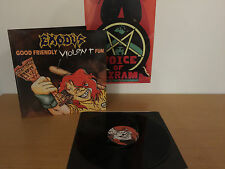 Exodus - Good Friendly Violent Fun LP ++ death angel ++ slayer ++ metallica ++