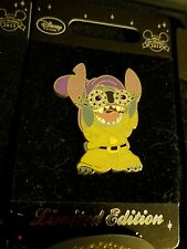 Disney Store Europe - Stitch Dressed Up As Dopey LE 600 Disney Pin