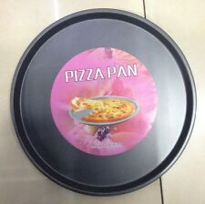 """2 x 9.5"""" Pizza Pan Non Stick Coating Easy Cooking Oven Baking Tray"""