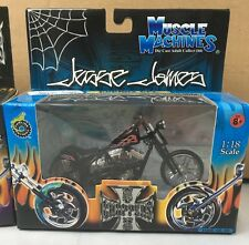 NIB 2003 Jessie James Muscle Machine Cherry CFL Black 1:18 West Coast Choppers