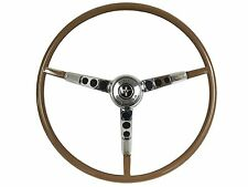 1965 1966 Ford Mustang Reproduction Palomino Steering Wheel with Horn Ring