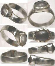 16thC Medieval Byzantine Constantinople Turkey Europe Silver Quartz Crystal Sz8½