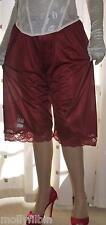 Vintage style no vpl soft silky nylon pantie slip~pettipants~culottes 20~22