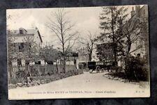CPA. DIJON. 21 - Institution de Mlles NICEY et TERRIAL. 1910. Rue des Génois.