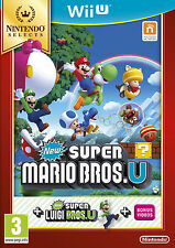 Super mario bros & super luigi U-Nintendo Selects Wii U-new & sealed