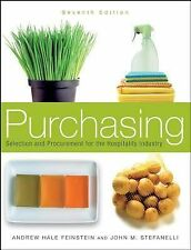 Like New Purchasing Selection & Procurement for the Hospitality Industry 7th Ed