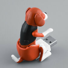 Brown Funny USB Humping Dog Toy Pet Christmas Stocking Gift For Laptop