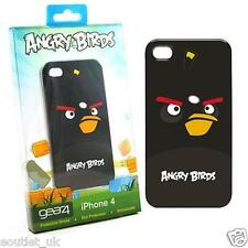 Angry Birds Cover iPhone 4 / 4S ufficialmente concesso in licenza da Gear4-BLACK BIRD NUOVO