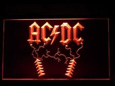 ACDC AC/DC Rock n Roll Bar Neon Light Signs